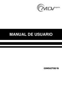 MANUAL DE USUARIO CONDUCTOS V5