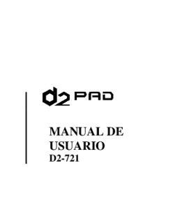 MANUAL DE USUARIO D2-721