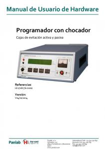 Manual de Usuario de Hardware