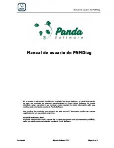 Manual de usuario de PNMDiag
