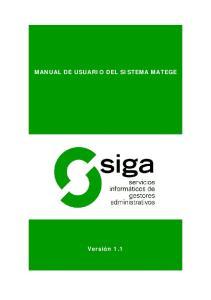 MANUAL DE USUARIO DEL SISTEMA MATEGE