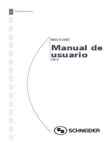 Manual de usuario MANUAL DE USUARIO SLA6135