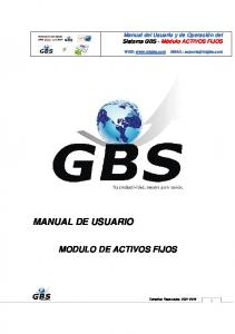 MANUAL DE USUARIO MODULO DE ACTIVOS FIJOS