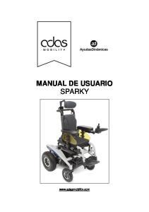MANUAL DE USUARIO SPARKY