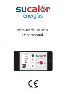Manual de usuario. User manual