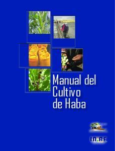 Manual del Cultivo de Haba