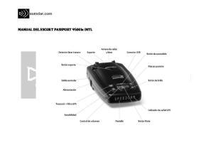 MANUAL DEL ESCORT PASSPORT 9500Ix INTL