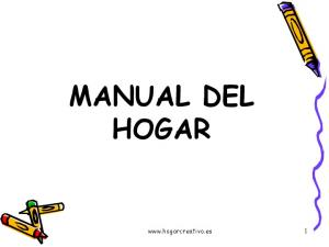 MANUAL DEL HOGAR
