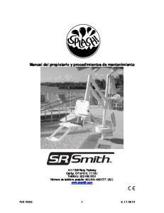 Manual del propietario y procedimientos de mantenimiento