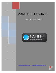 MANUAL DEL USUARIO CLIENTE WEB BASICO