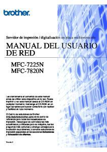 MANUAL DEL USUARIO DE RED