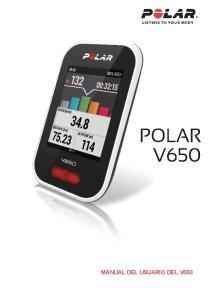 MANUAL DEL USUARIO DEL V650