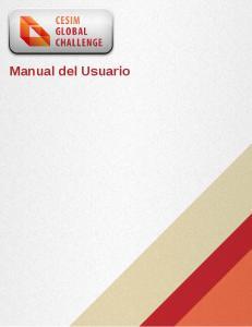 Manual del Usuario Manual del Usuario