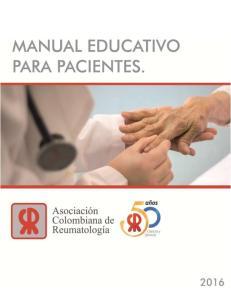MANUAL EDUCATIVO PARA PACIENTES
