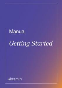 Manual. Getting Started