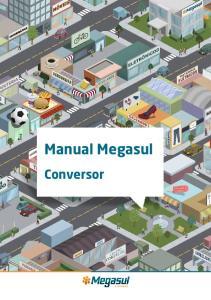 Manual Megasul. Conversor