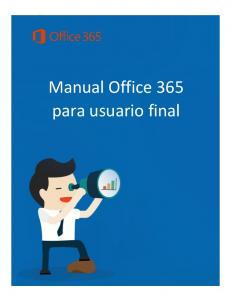 Manual Office 365 para usuario final