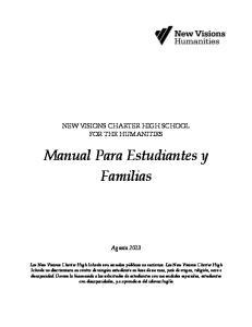 Manual Para Estudiantes y Familias