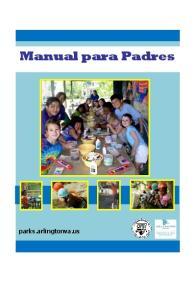 Manual para Padres. parks.arlingtonva.us
