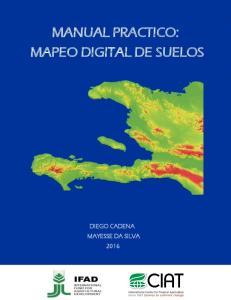MANUAL PRACTICO: MAPEO DIGITAL DE SUELOS