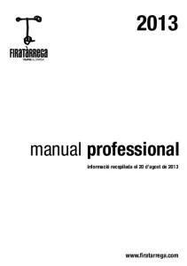 manual professional