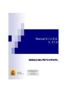 Manual S.I.U.S.S. V
