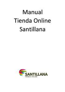Manual Tienda Online Santillana