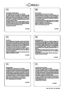 Manuale - Manual - Manuel - Handbuch - Manual - Manual