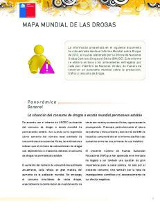 MAPA MUNDIAL DE LAS DROGAS