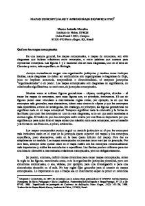 MAPAS CONCEPTUALES Y APRENDIZAJE SIGNIFICATIVO 1