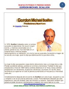 MAPAS FUTUROS Y PREDICCIONES GORDON MICHAEL SCALLION