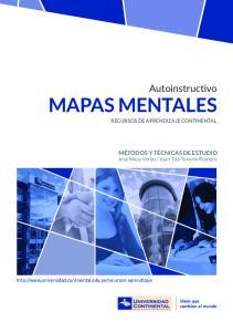 MAPAS MENTALES RECURSOS DE APRENDIZAJE CONTINENTAL