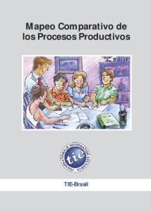 Mapeo Comparativo de los Procesos Productivos