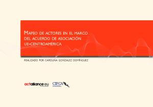 MAPEO DE ACTORES EN EL MARCO