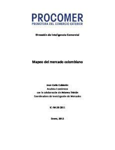 Mapeo del mercado colombiano