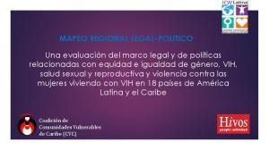 MAPEO REGIONAL LEGAL POLITICO