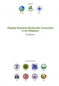 Mapping Population-Biodiversity Connections in the Philippines
