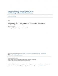 Mapping the Labyrinth of Scientific Evidence