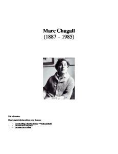 Marc Chagall ( )