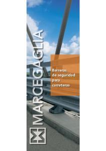 Marcegaglia 1. Barreras de seguridad para carreteras