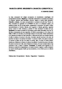 MARCHA SENIL REGRESIVA (MARCHA GERONTICA)