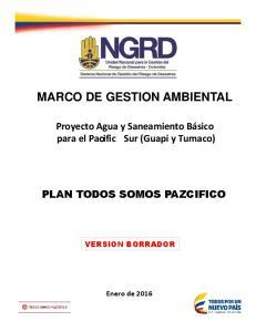 MARCO DE GESTION AMBIENTAL