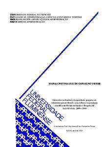 MARIA CRISTINA LEAL DE CARVALHO VIEGAS