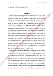 Maria José Chambel (Phd) Projevct Activities Report