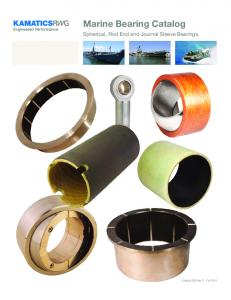 Marine Bearing Catalog. Spherical, Rod End and Journal Sleeve Bearings