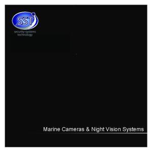 Marine Cameras & Night Vision Systems