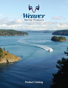 Marine Products. Product Catalog
