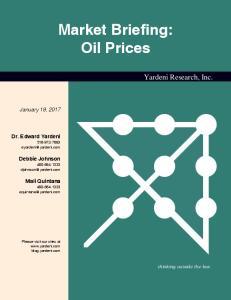 Market Briefing: Oil Prices