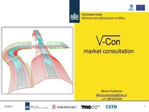market consultation Benno Koehorst