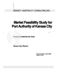 Market Feasibility Study for Port Authority of Kansas City